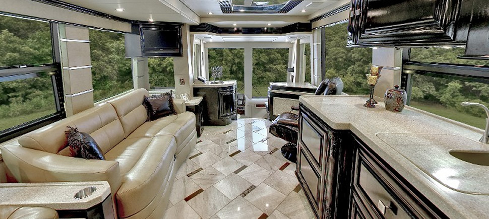 Luxury RVs And Motorhomes From Outlaw Coach Prevost Motor Homes